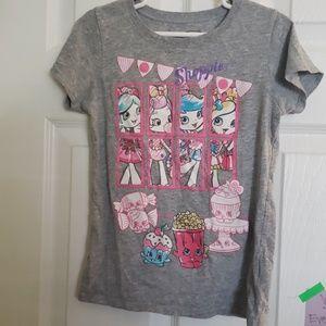 Shopkins tee shirt 7/8